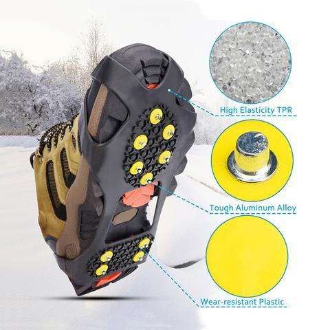 Non-Slip Ice Traction Cleats