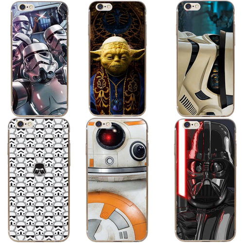 Star Wars iPhone 5s to X Hard Case