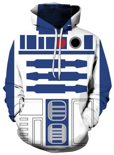 STAR WARS R2D2 - 3D  Sweatshirt