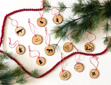 Load image into Gallery viewer, 12 Days of Christ Countdown Ornament's