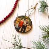 Christmas Card Ornament