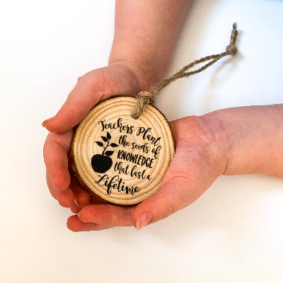 Plant the Seeds of Knowledge Teacher Ornament