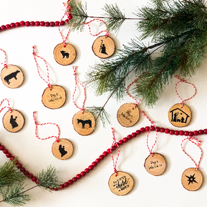 12 Days of Christ Countdown Ornament's