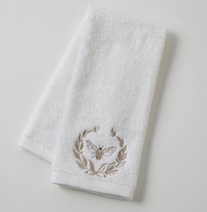 French Bee Hand Towel