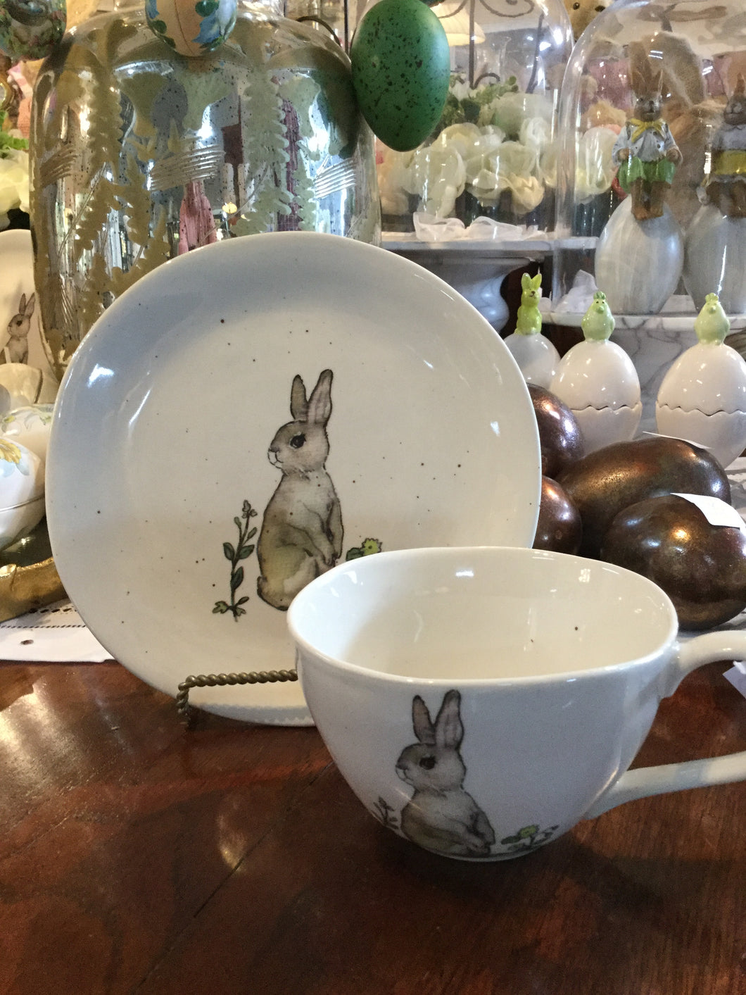 Edith Bunny Hot Chocolate Mug