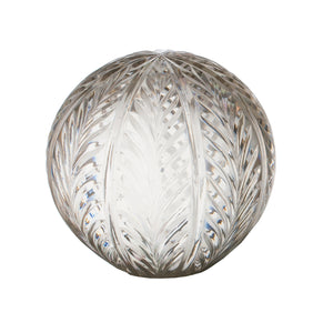 Wing Cut Glass Ball