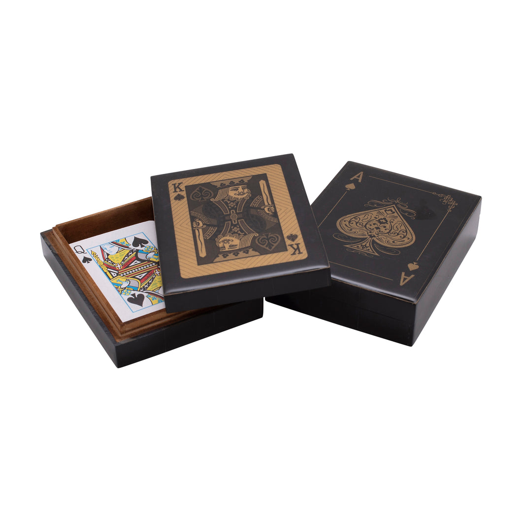 Black King or Ace Card Box