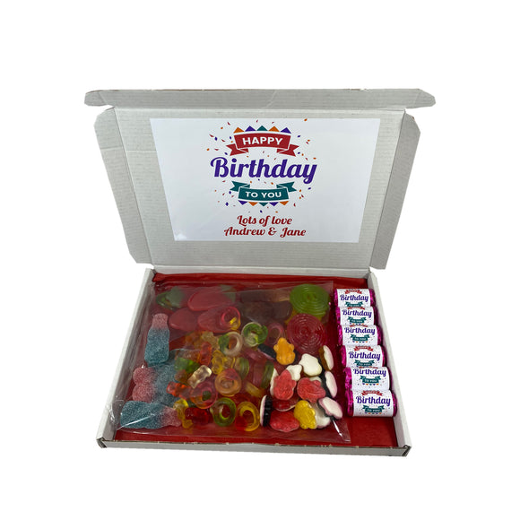 Happy Birthday Party Sweet Gift Box