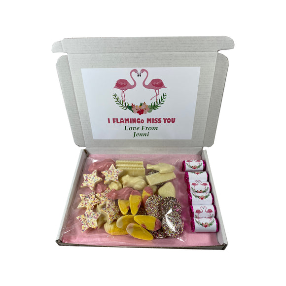 Flaming Miss You Chocolate Gift Box