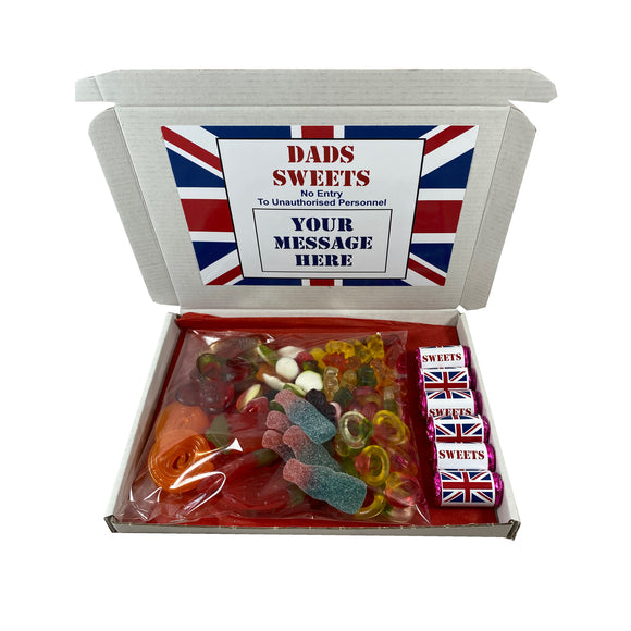 British Union Jack Party Sweet Gift Box