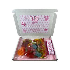 It's a Girl Pink Sweet Gift Box