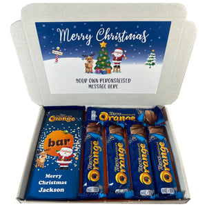 Terry's Chocolate Orange Christmas Bar Gift Box