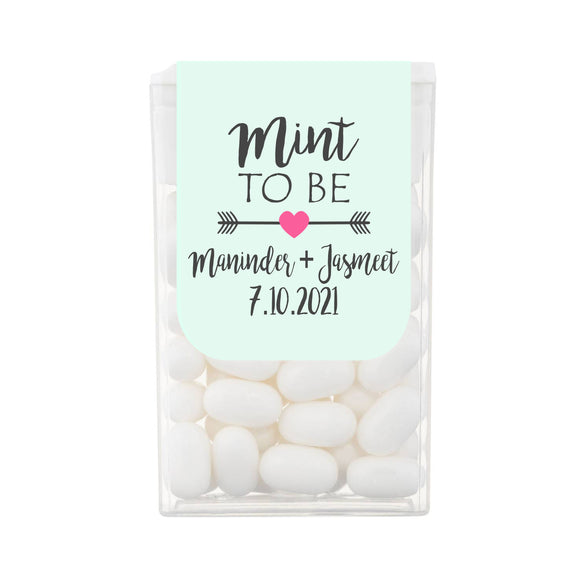 Mint To Be Tic Tac Wedding Favours
