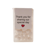Dancing Couple Tic Tac Wedding Favours