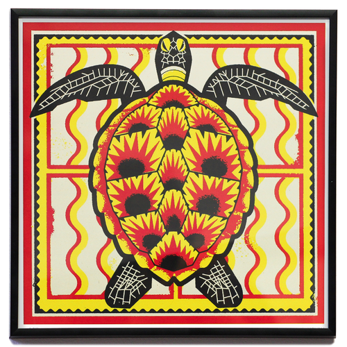Sofrito Turtle Screenprint