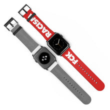 Load image into Gallery viewer, Fck Racism Red Apple Watch Band