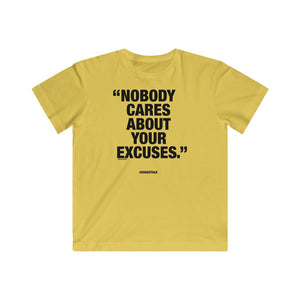 Coach Talk: NOBODY CARES - Kids Fine Jersey Tee