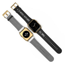 Load image into Gallery viewer, Unfuck Your Day Biltong Apple Watch Band