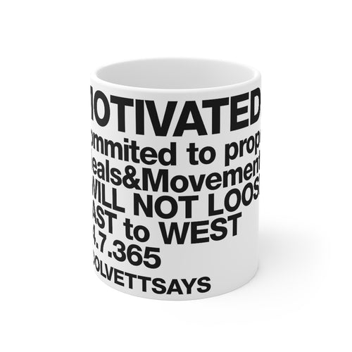 Dolvett MOTIVATED - Mug 11oz