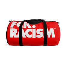 Load image into Gallery viewer, Fck Racism Duffel Bag in Red