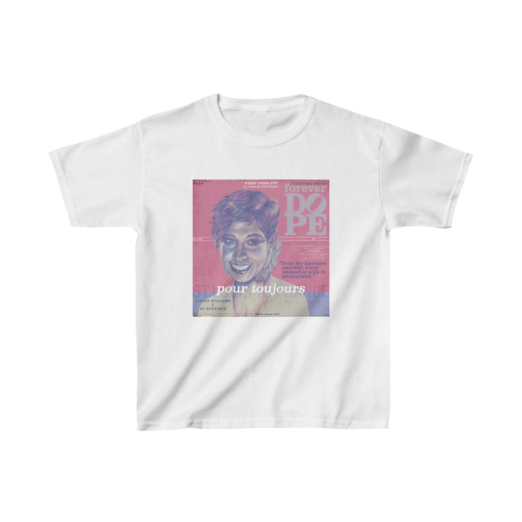 Forever DOPE x Josephine - Kids Heavy Cotton™ Tee