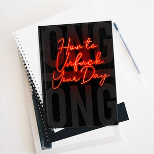 How to Unfuck Your Day - Hardback Journal