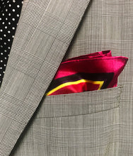 Load image into Gallery viewer, DOPE Yellow Royalties Pocket Square