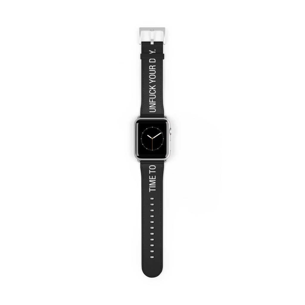 Unfuck Your Day Biltong Apple Watch Band