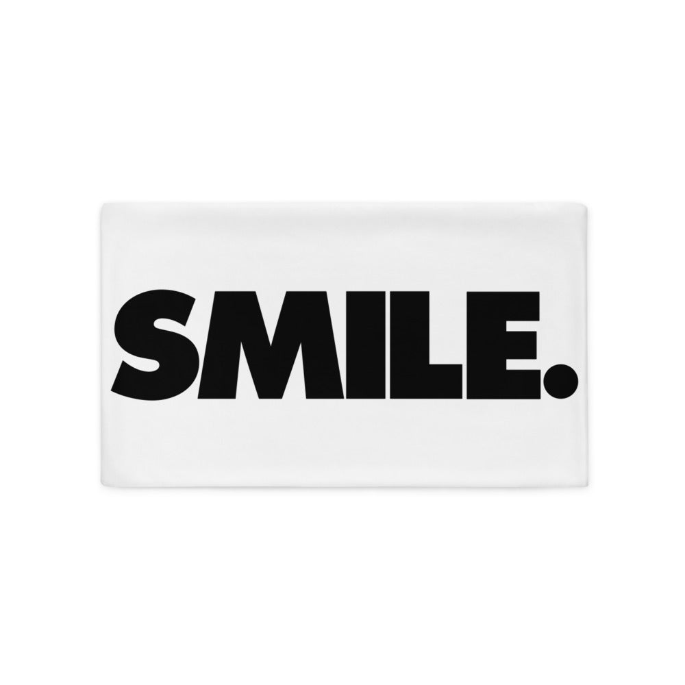 Dolvett SMILE - Pillow Case in White