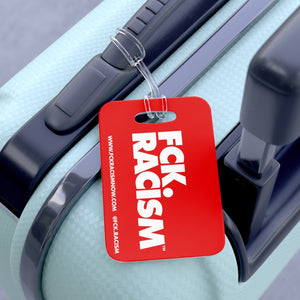 Fck Racism Red Bag Tag
