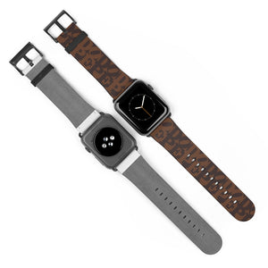 DOPE Brown Apple Watch Band