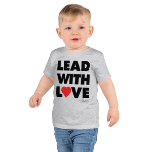 Dolvett - LEADWITHLOVE Short sleeve kids t-shirt