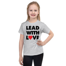 Load image into Gallery viewer, Dolvett - LEADWITHLOVE Short sleeve kids t-shirt