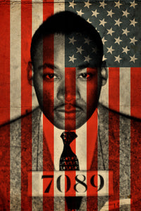 "The All-American Martin Luther King 24"" x 36"" - Print"