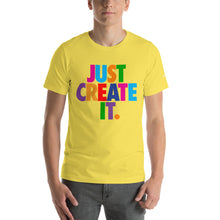 Load image into Gallery viewer, Unisex JUST CREATE IT Tee (5 Colors)