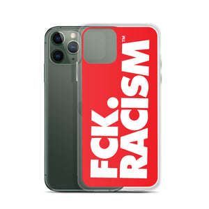 FCK Racism - iPhone Case in Red