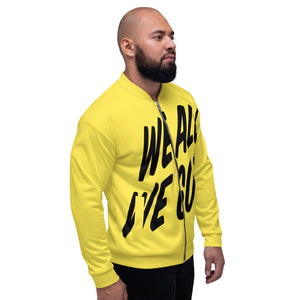 TGS - WE ALL WE GOT Unisex Bomber Jacket in Yellow