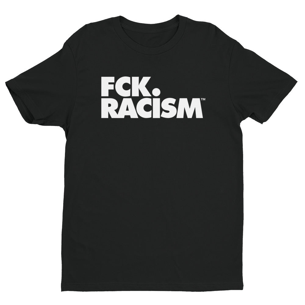 FCK Racism Logo Block Short Sleeve T-shirt