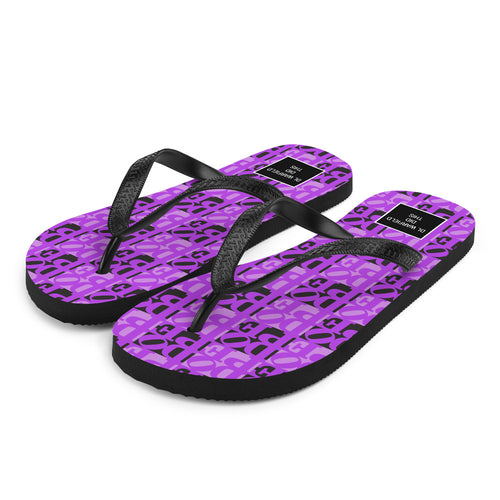 DOPE Flip-Flops in Purple