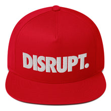 Load image into Gallery viewer, UNL DISRUPT - Flat Bill Snapback Cap