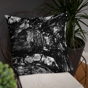 Black Lava Basic Pillow (3 Sizes)