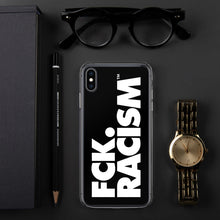 Load image into Gallery viewer, FCK Racism - iPhone Case in Black