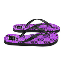 Load image into Gallery viewer, DOPE Flip-Flops in Purple