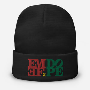 EMEF x DOPE Embroidered Skullcap