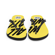 Load image into Gallery viewer, TGS - WE ALL WE GOT Yellow Flip-Flops