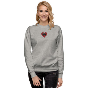 I HEART BILTONG Unisex Fleece Crew Neck
