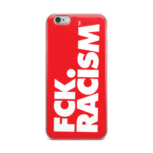 Load image into Gallery viewer, FCK Racism - iPhone Case in Red