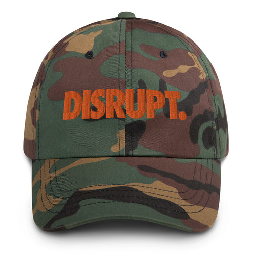 UNL Disrupt - Camo Dad hat