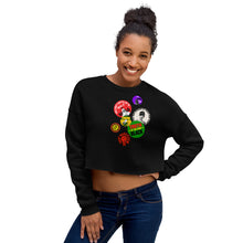 Load image into Gallery viewer, Buttons Forever - Crop Sweatshirt
