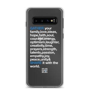 TGS - GATHER the WORDS Samsung Case